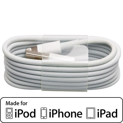 USB Lightning Charging Data Sync Cable for Apple iPad iPod iPhone 5 6 7 8 X Plus