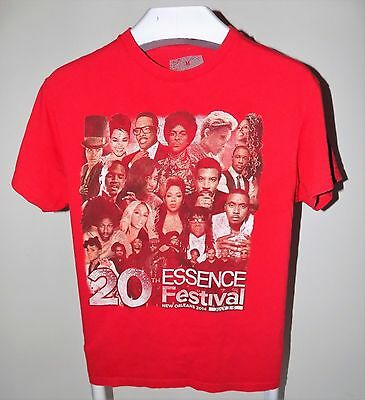 Prince 20th Anniversary Essence Music Festival 2014,Size M, Red