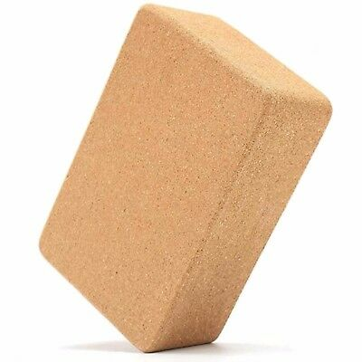 Organic Cork Yoga Block Eco-Friendly Yoga Prop Accessory Exercise Brick