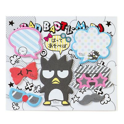 BAD BADTZ MARU Funny Disguised Sticky Notes SANRIO from Japan SHIPPING FREE