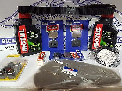 Replacement Kit Piaggio Beverly 500 2002 2003 2004 Oil Filters Belt Brakes