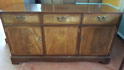Reproduction Vintage Inlaid Sideboard  *LARGE*