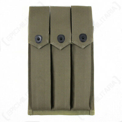 US M3 Grease Gun Mag Pouch - WW2 Repro American Army Ammo Webbing Case Carrier