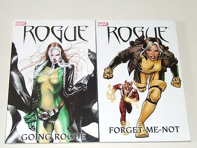 Rogue - Going Rogue TPB & Rogue - Forget-Me-Not TPB (2005 Marvel)