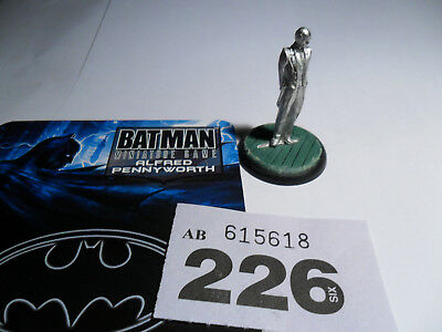 Knight Models Batman Miniatures Game limited edition Alfred Pennyworth Lot W226