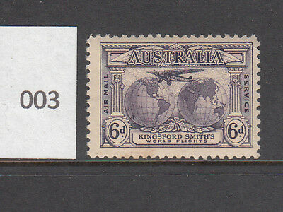 1931 Kingsford Smith 6d Airmail MNH