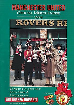 Manchester United FC Official Merchandise Catalogue 1994