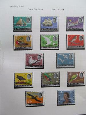 Pitcairn Islands 1964 Definitives Multicolour Full Set 13 Values 1/2d to 8/- MNH