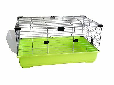 Heritage Lime Rabbit 80cm Large Indoor Cage Kit Guinea Pig Rodent Hutch Home
