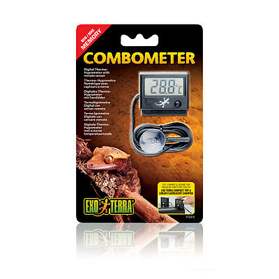 Exo Terra Digital Thermo-Hygrometer Combometer for Temperature and Humidity