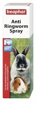 Beaphar Anti Ringworm Spray 50Ml Rabbit Guinea Pig Rat