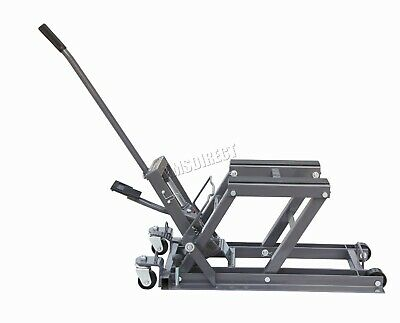 SwitZer 1500lb Hydraulic Motorcycle Motor Bike Stand Quad Lift ATV Jack Hoist
