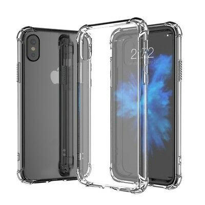 iPhone X 10 Case DN Alive Hybrid Slim Clear Transparent Bumper Cover for Apple
