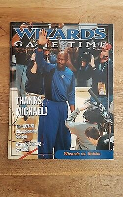 Michael Jordan Wizards Program - Last ever home game