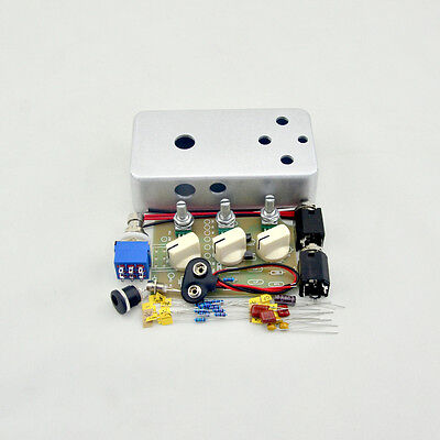 DIY Tremolo Effect pedal All Kit With 3PDT Switch and Hammond 1590B TR-1