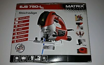 EJS 750-L MATRIX Stichsäge mit Laser 750watt Power NEU