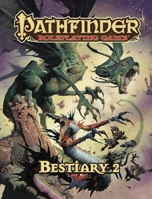 Pathfinder Roleplaying Game Bestiary 2 - Fantasy RPG - New - from Paizo