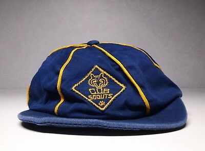 Vintage BSA Boy Scouts of America Cub Scouts Uniform Hat Cap