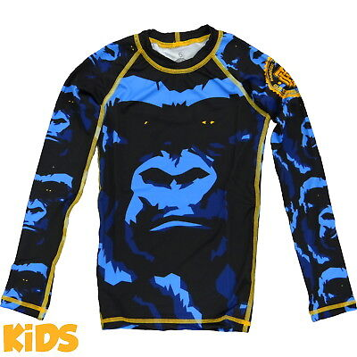 Kids Rashguard Hardcore Training Gorilla - Long Sleeve Niño Compresión superior