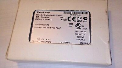 ***NEW*** Allen Bradley 1734-ARM SER C 1734ARM *IN BOX*
