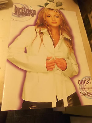 Britney Spears Oops! I Did It Again Tour 2000 Concert Program RARE