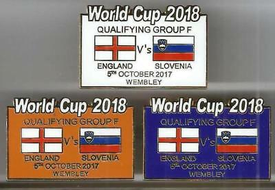 World Cup 2018 - England v Slovenia ~ Match Day Badge