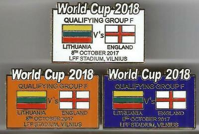 World Cup 2018 - Lithuania v England ~ Match Day Badge