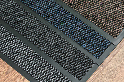 Dirt Stopper Heavy Duty Washable Entrance Non-Slip Mat 90cm x 150cm (3'x5')