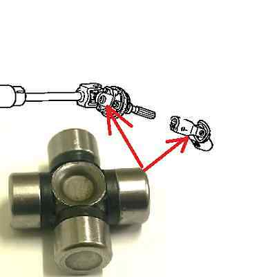 Steering Column Shaft Universal Joint 16X39 For Kia Mazda Nissan Honda Toyota