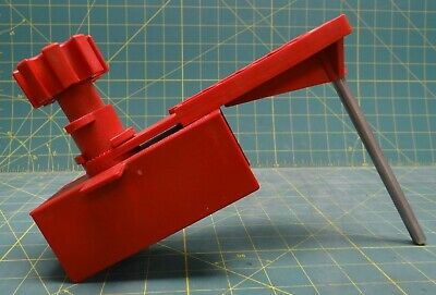 Red Universal Ball Valve Lockout