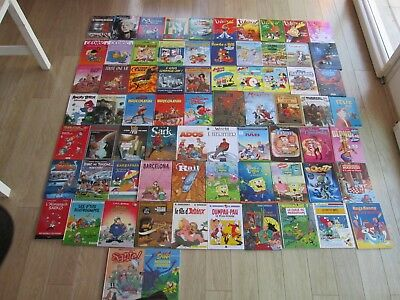 Lot De 72 Bd Divers Humour Aventure Titeuf Cedric Tres Bon Etat Global Lot62