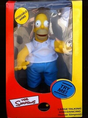 THE SIMPSONS - Large Talking and Dancing Homer - guter Zustand - mit OVP