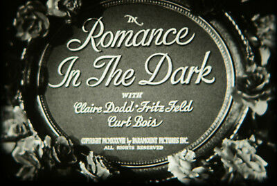 16mm Feature - ROMANCE IN THE DARK - Paramount 1938 - Excellent Musical Comedy