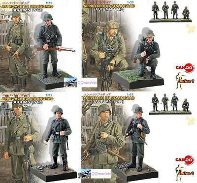 DRAGON 1:35 WW2 German Soldier Diorama STALINGRAD Painted MODEL SET CD_1to4
