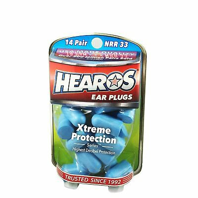Hearos Xtreme Protection Foam Ear Defender Plugs - Various Pack Sizes - New