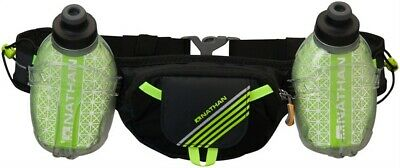 Nathan Trail Mix Plus Insulated Hydration Belt with two 10oz Bottles: One Size F