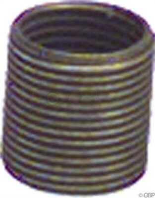 Unior Proprietary Replacement Pedal Thread Insert for Right Crankarm: Brass 9/16