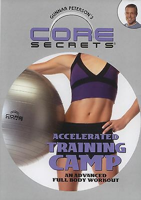 CORE SECRETS ~ ACCELERATED TRAINING CAMP ~ DVD new