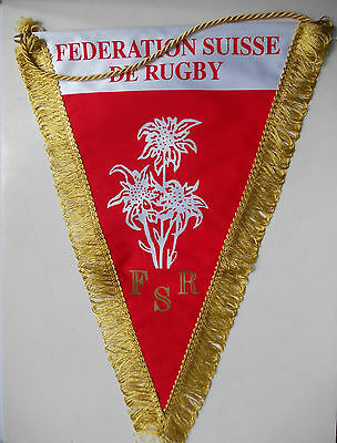 pennant Switzerland Rugby Federation Association Official gagliardetto wimpel