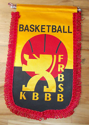 pennant Belgium Basketball Association bandierina gagliardetto wimpel