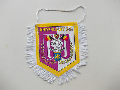 pennant Anderlecht Brussels Belgium wympel wimpel gagliardetto