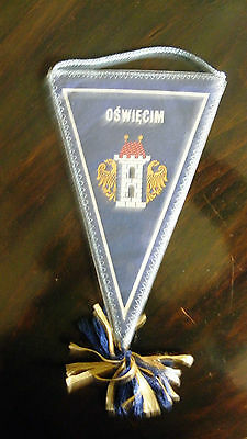 pennant Oswiecim 1976 Poland wimpel