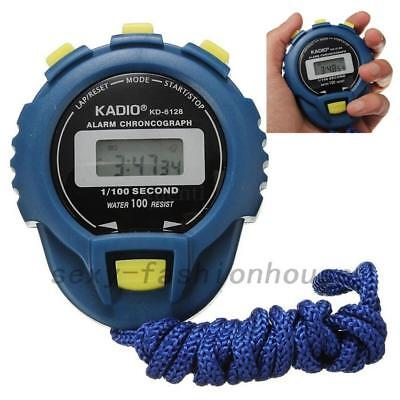 KD-6128 Sporting Chronograph Digital Timer Stopwatch Counter Odometer Watch Tool