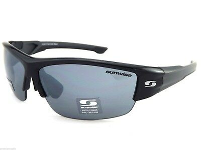 Sunwise Evenlode Black Sports Sunglasses Clearance 3 Interchangeable Lenses