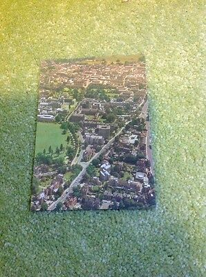 Oxford From The Air - St Anne's College In Foreground - Postcard