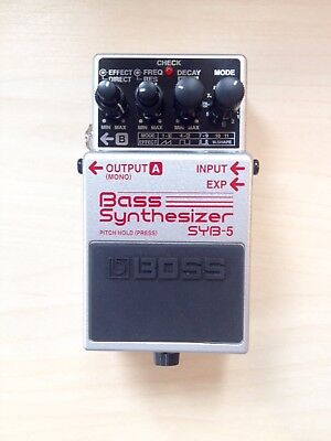 Pedal Boss SYB-5 Bass Synthesizer