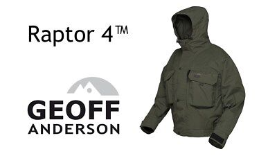 Geoff Anderson Raptor 4 Giacca Wading Jacket Pesca  Outdoor Impermeabile Vento