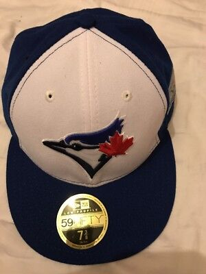 Men's 59Fifty Royal Toronto Blue Jays 40th Season Fitted Hat-7.3/8, New