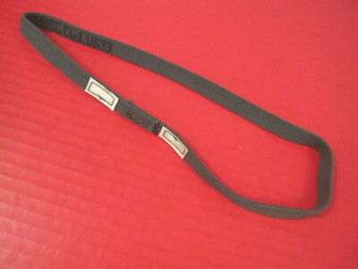 US Army OD Green Elastic Band w/Cat Eyes for PASGT ACH MICH Kevlar Helmet Cover