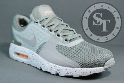 c18e817630 Nike Air Max Zero Premium 881982-001 Tumbled Grey Wolf White Ds Size: 8.5